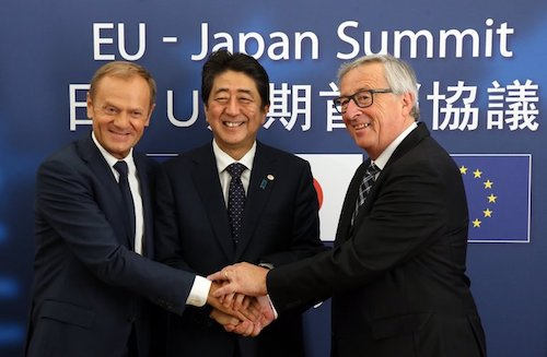 EU Japan bilateral agreement, with commentary from Chris Brummer