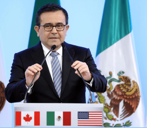 Mexico economy trade minister comments on NAFTA on Chris Brummer's site MiniLateralism